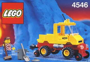 Набор LEGO 4546 Road and Rail Maintenance