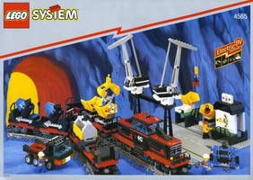 Набор LEGO 4565 Freight and Crane Railway