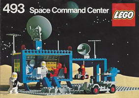 Набор LEGO 493 Space Command Center (Flatplate version)