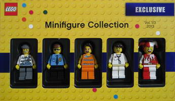 Набор LEGO 5002146 Minifigure Collection 2013 Vol 1 of 3