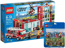 Набор LEGO 5003096 LEGOВ® City Fire Collection: 60004 and 850618