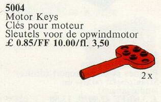 Набор LEGO 5004 Keys for Windup Motor