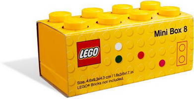 Набор LEGO 5004266 LEGO Mini Box (Yellow)
