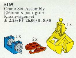 Набор LEGO 5169 Crane Set Assembly