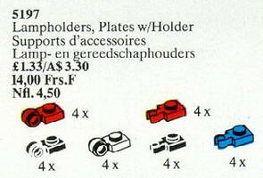 Набор LEGO 5197 Lampholders, Plate with Holders