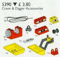 Набор LEGO 5390 Crane and Digger Accessories