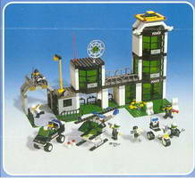 Набор LEGO 6332 Command Post Central