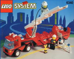 Набор LEGO 6340 Hook & Ladder