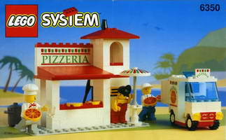Набор LEGO 6350 Pizza To Go