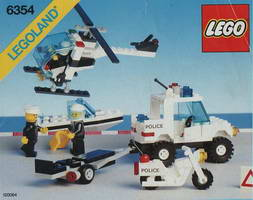 Набор LEGO 6354 Pursuit Squad