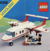 Набор LEGO 6356 Med-Star Rescue Plane