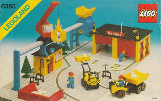 Набор LEGO 6383 Public Works Center