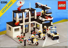 Набор LEGO 6386 Police Command Base