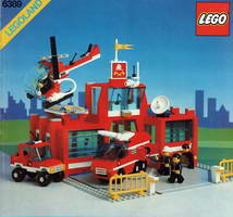 Набор LEGO 6389 Fire Control Center