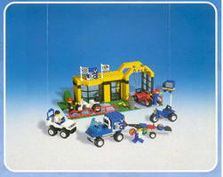 Набор LEGO 6426 Super Cycle Center