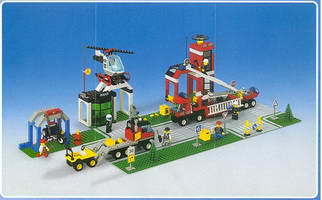 Набор LEGO 6464 Super Rescue Complex