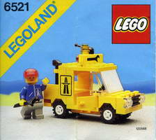 Набор LEGO 6521 Emergency Repair Truck