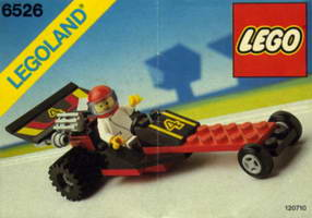 Набор LEGO 6526 Red Line Racer