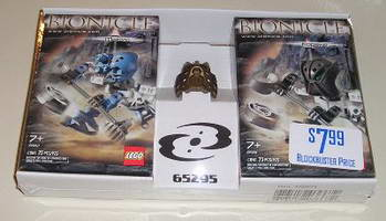Набор LEGO 65295 Matoro and Kopeke Twin Pack with Gold Avohkii