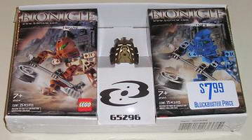 Набор LEGO 65296 Hewkii and Hahli Twin Pack with Gold Avohkii