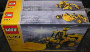 Набор LEGO 65340 Dumper and Front End Loader Co-Pack (contains 8451 and 8453)