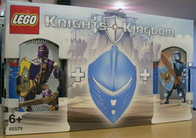 Набор LEGO 65579 Knights' Kingdom Value Pack 8770 and 8771 with Foam Helmet