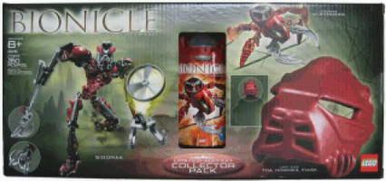 Набор LEGO 65716 Limited Edition Collector Pack with Vohtarak Sidorak and Life-Size Toa Hordika Mask (8742 8756)