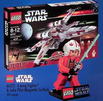 Набор LEGO 66221 X-wing Fighter and Luke Pilot Maquette Co-Pack (TRU Exclusive)