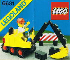 Набор LEGO 6631 Steam Shovel