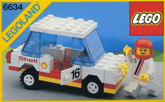 Набор LEGO 6634 Stock Car
