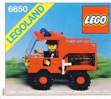Набор LEGO 6650 Fire and Rescue Van