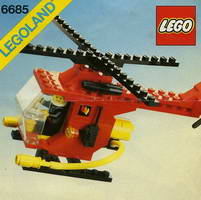 Набор LEGO 6685 Fire Copter 1