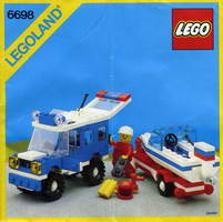 Набор LEGO 6698 RV with Speedboat