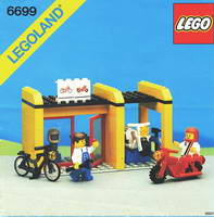 Набор LEGO 6699 Cycle Fix-It Shop