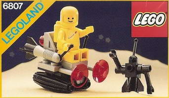 Набор LEGO 6807 Space Sledge with Astronaut and Robot