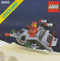 Набор LEGO 6848 Strategic Pursuer