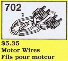 Набор LEGO 702-3 Motor Wires