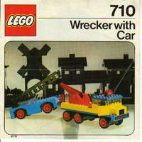Набор LEGO 710 Wrecker with Car
