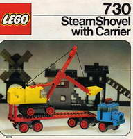 Набор LEGO 730 Steam Shovel with Carrier