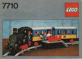 Набор LEGO 7710 Push-Along Passenger Steam Train
