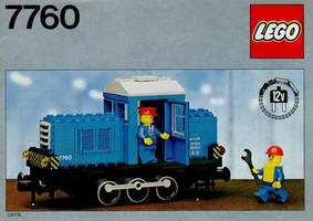 Набор LEGO 7760 Diesel Shunter Locomotive