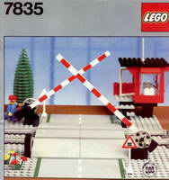 Набор LEGO 7835 Manual Road Crossing