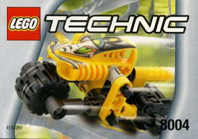 Набор LEGO 8004 Dirt Bike