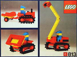 Набор LEGO 813-2 Gear Bulldozer Set