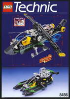 Набор LEGO 8456 Fiber Optic Multi Set / Multi Racer Set (with Fibre Optics)