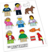 Набор LEGO 850794 Family Window Decals