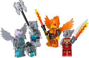 Набор LEGO 850913 Fire and Ice Minifigure Accessory Set