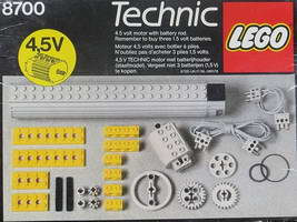 Набор LEGO 8700 Expert Builder Power Pack