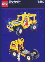 Набор LEGO 8850 Rally Support Truck