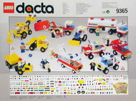 Набор LEGO 9365 Lego Dacta Community Vehicles